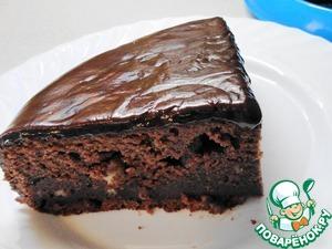 """Рецепт Шоколадный торт """"Фокус-покус"""" (в мультиварке и духовке)"""