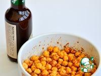 Орешки из нута под пиво ингредиенты