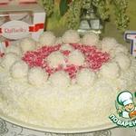 """Торт """"Рафаэлло"""" из покупных коржей"""