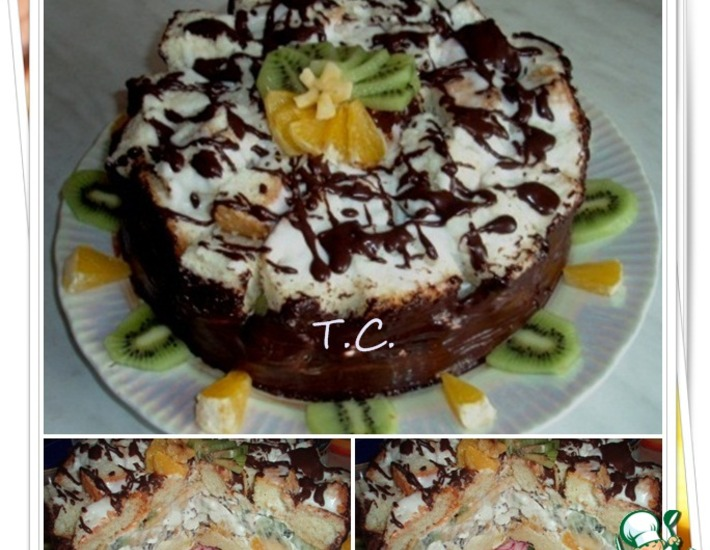 """Рецепт: Торт """"Фруктовый"""""""