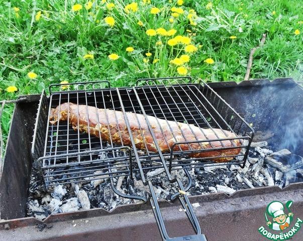 Свиная вырезка на гриле рецепты
