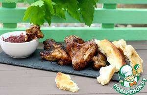 Рецепт Азиатский маринад для куриных крыльев и не только