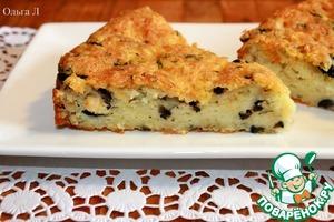 Рецепт Сырный пирог с сельдереем и маслинами