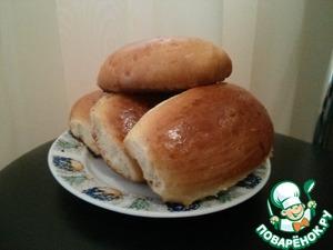 Рецепт Простые пирожки с мясной начинкой