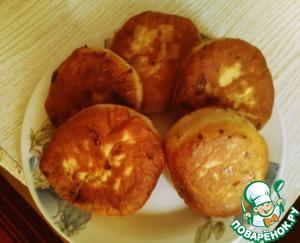 Рецепт: Пончики с вареньем