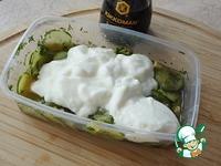 Йогурт с маринованным огурцом ингредиенты
