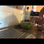 Салат с «Айсбергом» и сухариками
