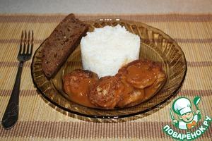Рецепт Шарики из пангасиуса в кисло-сладком соусе
