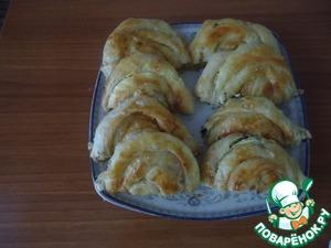 Рецепт Бёрек с сыром и кинзой