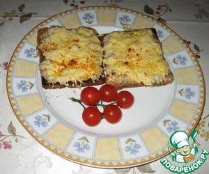 Рецепт Горячие сэндвичи с тунцом