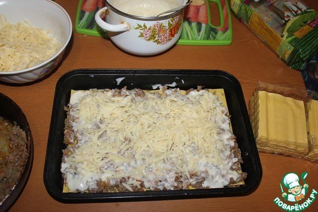 Как приготовить лазанью по домашнему пошагово