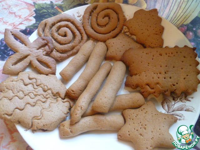 Песочное печенье без яиц рецепт пошагово в духовке