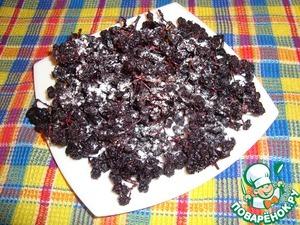 Рецепт Сухое варенье из черноплодной рябины