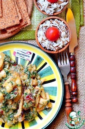 Рецепт Африканский арахисовый соус