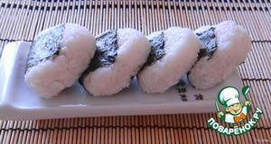 Рецепт: Рисовые колобки (Онигири, Омусуби)