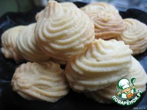 Как приготовить рецепт приготовления с фото Печенье, которое тает во рту