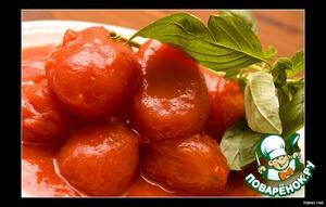 Готовим вкусный рецепт приготовления с фото Паста с соусом из помидоров черри и базилика