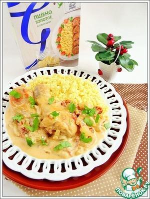 Рецепт Курица в соусе с вялеными томатами