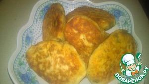 Рецепт Картофельные пирожки из пюре