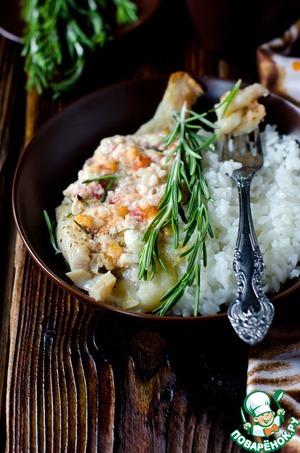 Рецепт Тилапия, запеченная с сыром фета и помидорами