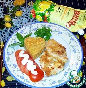 Рецепт Отбивная из филе курицы