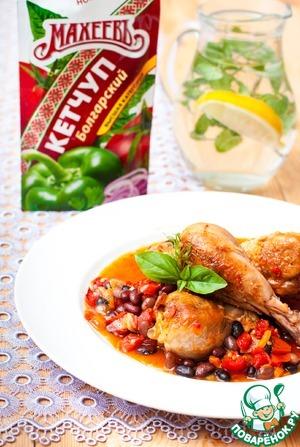 Рецепт Цыпленок по-умбрийски