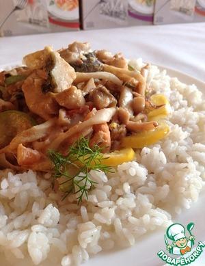 Рецепт Рыбно-овощное ассорти