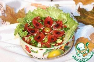 Рецепт Салат с баклажанами «Сытный»