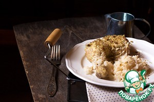 Рецепт Курица в сливочно-ореховом соусе