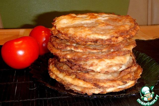 Рулет картофельный с мясом - рецепт с фото
