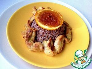 Рецепт Куриное филе с апельсиновым соусом