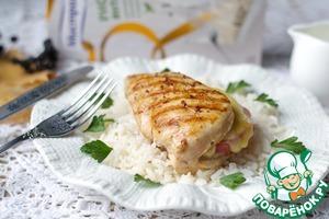 Рецепт Кармашки из куриной грудки
