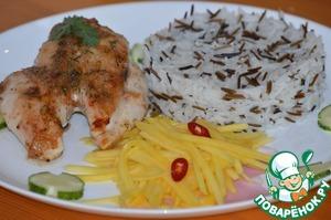 Рецепт Огненная курица по-ямайски
