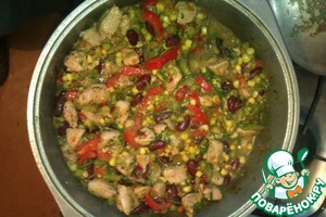 Рецепт Индейка по-итальянски