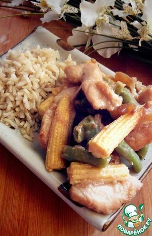 Рецепт Практически Чоу-мейн из курицы