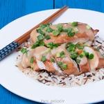 Курица, жаренная с мисо по традиции Нагасаки