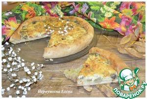 Рецепт Пицца заливная с овощами под сыром