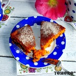 Рассыпчатый томатный пирог