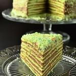 Торт «Шпинат-шоколад»