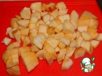 Баранина с яблоками ингредиенты