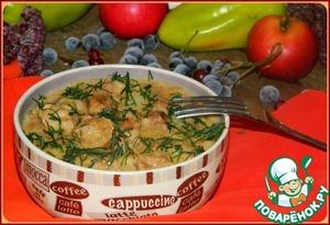 Рецепт Баранина с яблоками