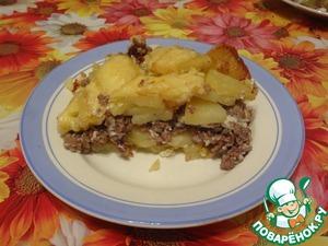 Мясная запеканка пошаговый рецепт приготовления с фото готовим