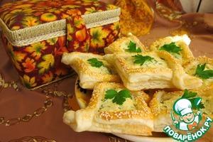 Рецепт Закусочные корзиночки с пикантной начинкой