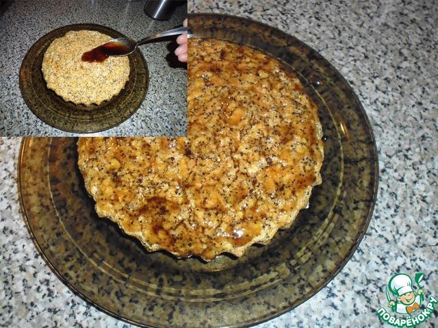 Морковный пирог с маком рецепт