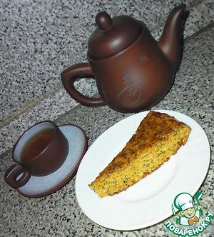 Рецепт Морковный пирог с маком