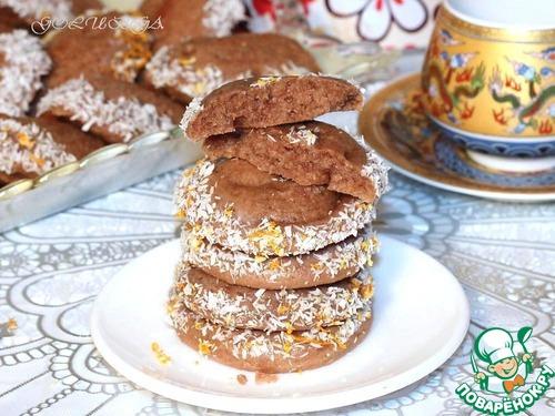 Печенье шоколадное на майонезе «Моментальное»