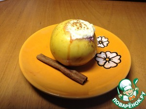 """Рецепт Печеные яблоки """"С сюрпризом"""""""