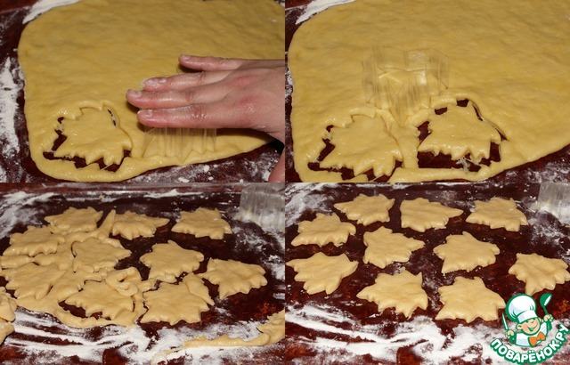 Торт осенний листопад фото
