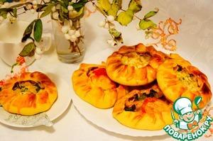 """Рецепт Пироги """"Осенние"""" с разной начинкой"""