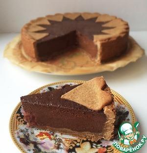 Рецепт Шоколадный пирог с шоколадным крем-муссом